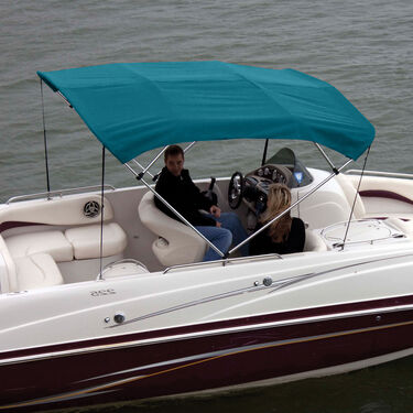 Shademate Polyester Stainless 4-Bow Bimini Top 8'L x 42''H 79''-84'' Wide
