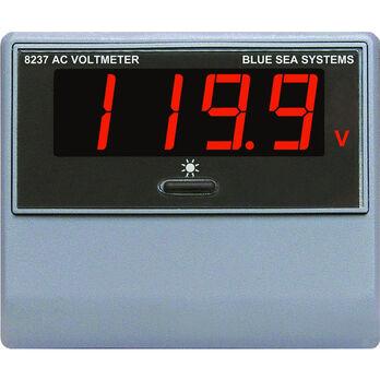 Blue Sea AC Digital Voltmeter, 80-270V