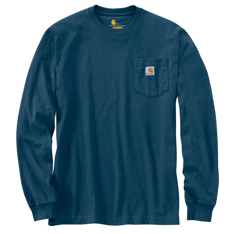 Carhartt Men's Workwear Long-Sleeve Pocket Tee image number 20