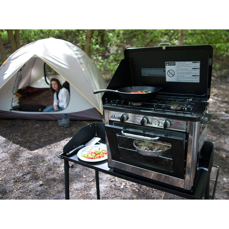 Camp Chef Outdoor Camping Oven and 2-Burner Stove image number 4