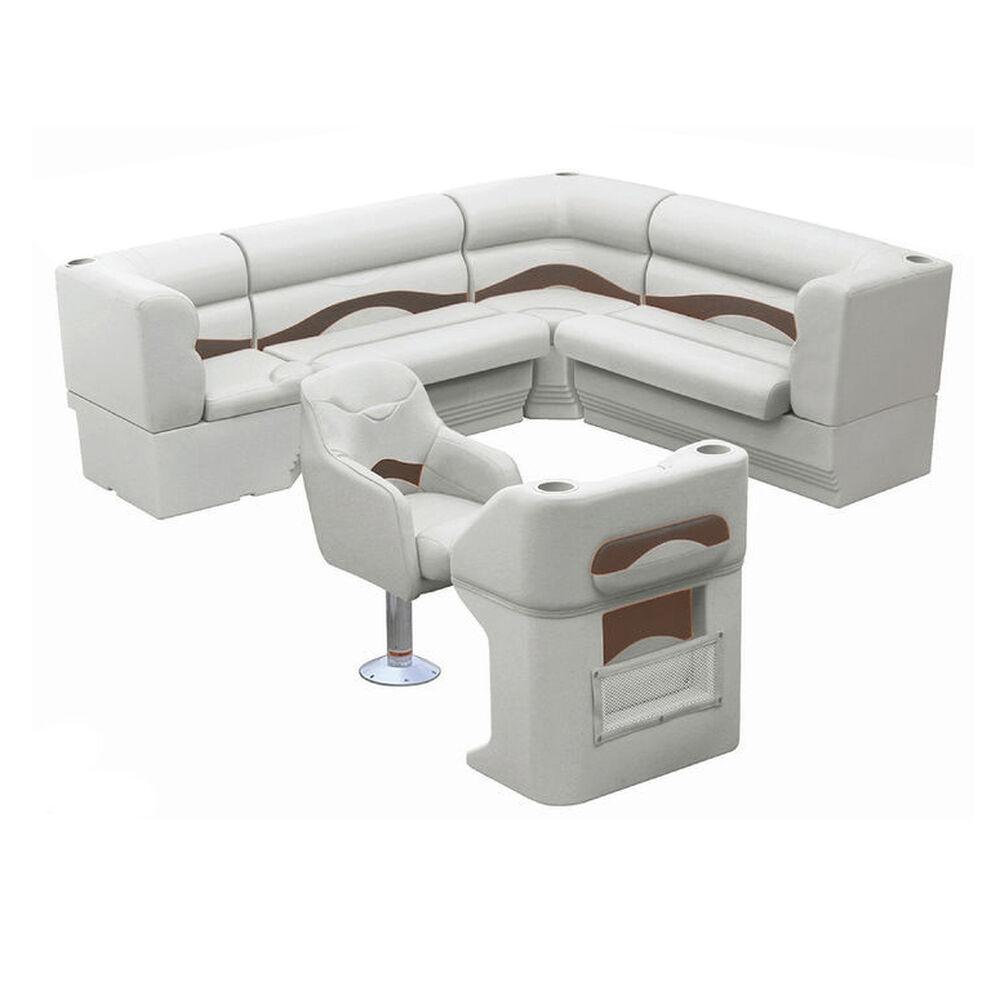 Toonmate Premium Pontoon Furniture Package, Complete Rear L Group
