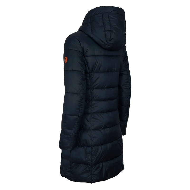 Save The Duck Women's Giga Long Quilted Winter Coat image number 3