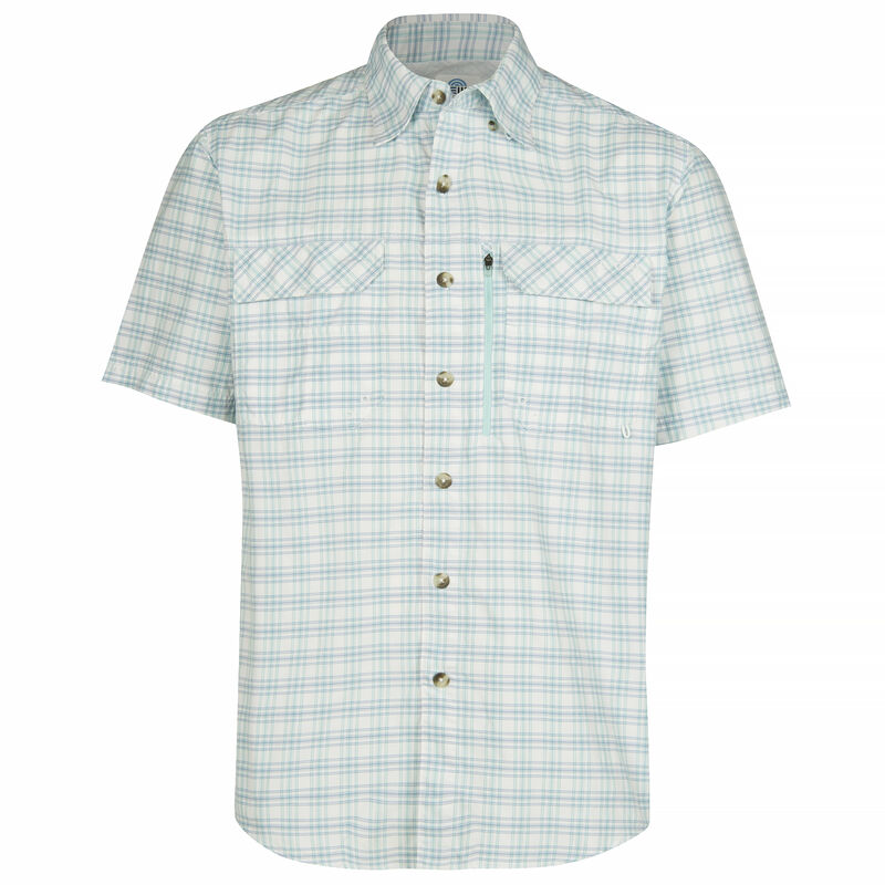 Nepallo Men's Trophy Quick-Dry Plaid Short-Sleeve Shirt image number 12