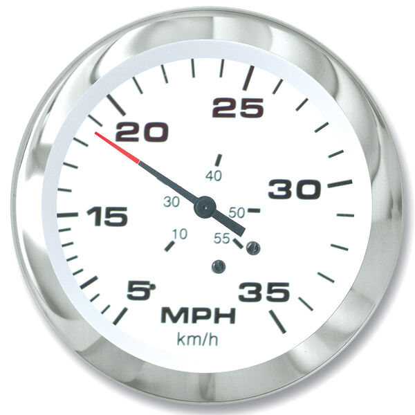 """Sierra 3"""" Lido Speedometer Kit, 35 MPH"""