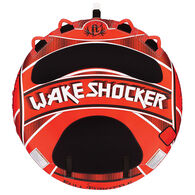 Wake Shocker 70 in Red Double-Rider Towable Inflatable Tube