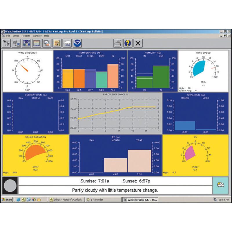 Davis WeatherLink For Vantage Pro2 And Vantage Vue image number 1