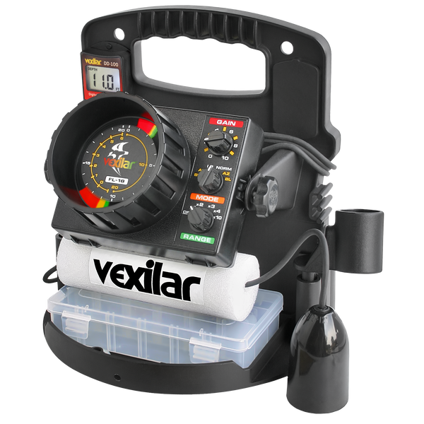 Vexilar PP1812 FL-18 Pro Pack II With 12° Ice-Ducer
