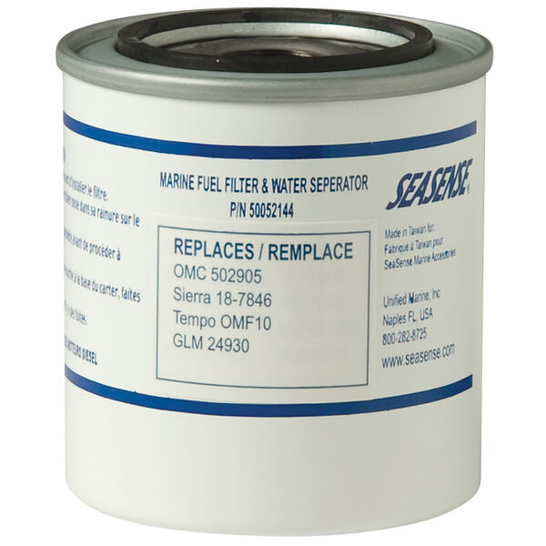 SeaSense Replacement Filter Canister Only,replaces OMC # 502905