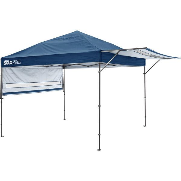 Shelterlogic Quik Shade Solo 170 Straight Leg Pop-Up Canopy, 10' x 17', Midnight Blue
