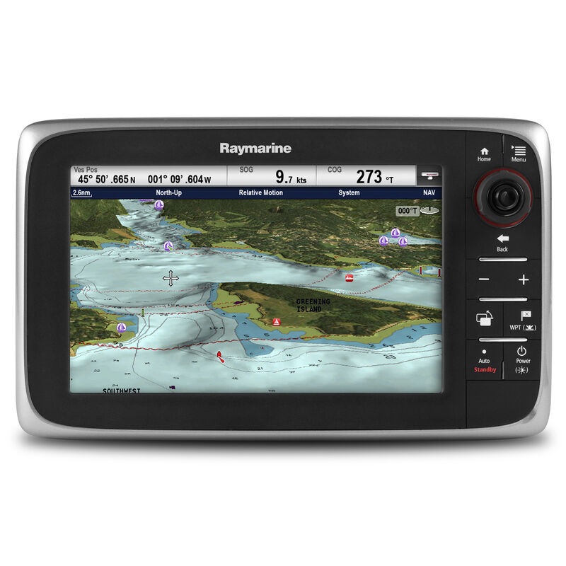 Raymarine c97 Multifunction Display with HD Digital Sonar - US Coastal Charts image number 1