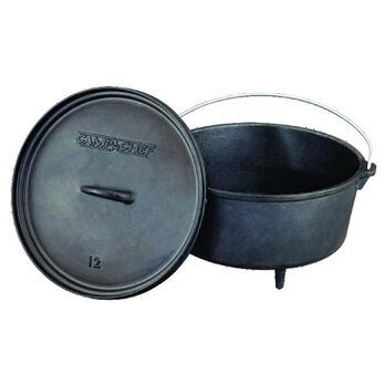 Classic 8 Quart Deep Dutch Oven, 12""