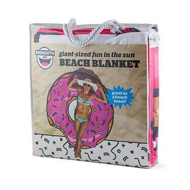 Bigmouth Gigantic Donut Beach Blanket
