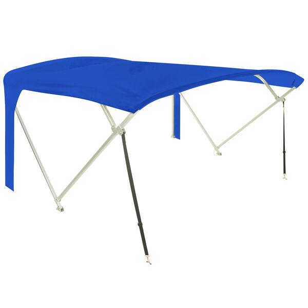 "Older Model Buggy Style Pontoon Bimini Top Fabric Only, Sunbrella, 90""-96"" Wide"