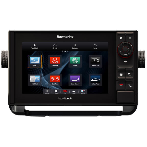 """Raymarine eS98 9"""" MFD Combo With CHIRP/DownVision / N Amer Coasts + Lakes"""