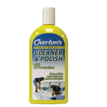 Marine Cleaner And Polish, 16 oz.