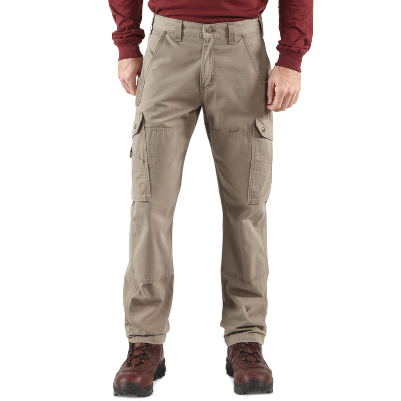 Carhartt Men's Relaxed Fit Double-Front Cargo Work Pant image number 3