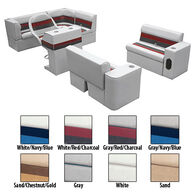 Deluxe Pontoon Furniture w/Classic Base - Complete Boat Package C