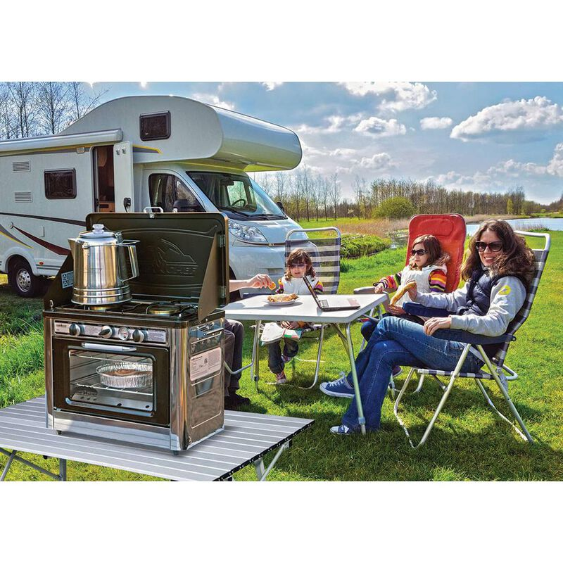 Camp Chef Outdoor Camping Oven and 2-Burner Stove image number 6