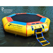 Island Hopper 10' Bounce-N-Splash Water Bouncer