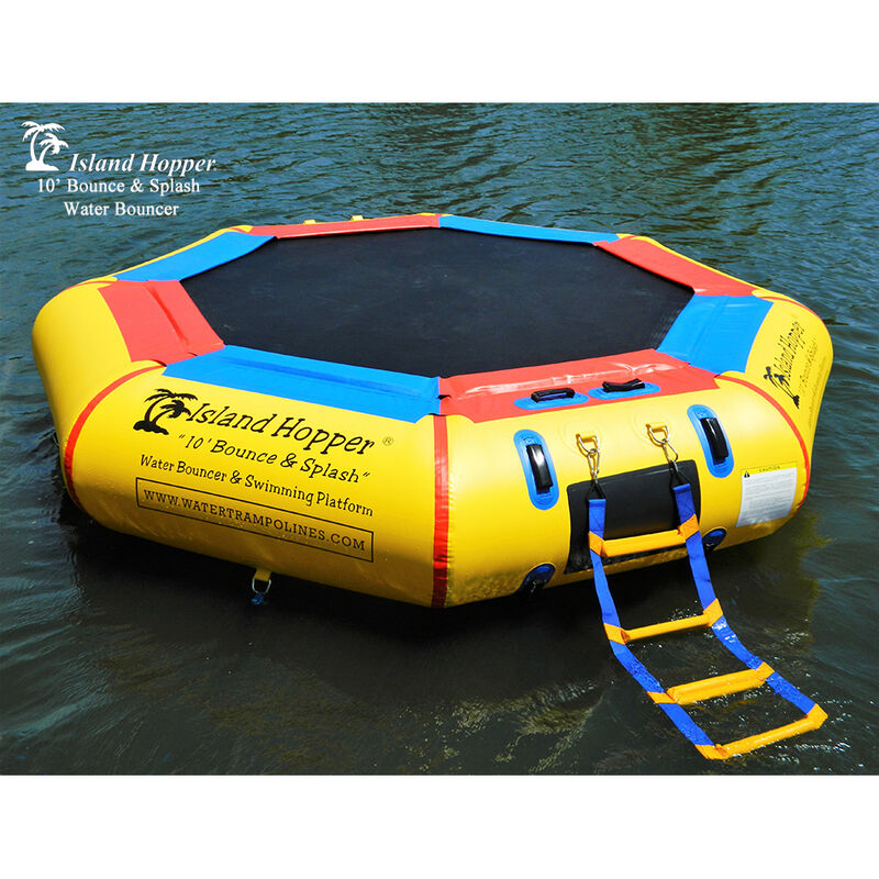 Island Hopper 10' Bounce-N-Splash Water Bouncer image number 1