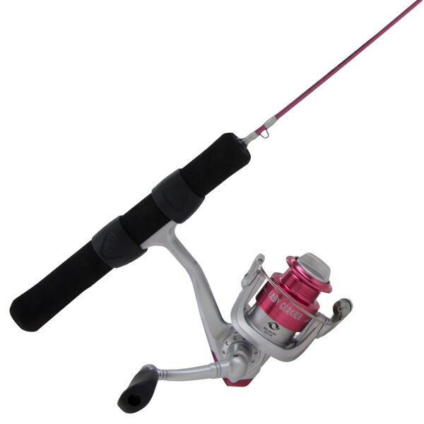 Shakespeare Lady Glacier Ice Fishing Combo