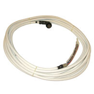 Raymarine Light Radome Cable with Right-Angle Connector - 10m
