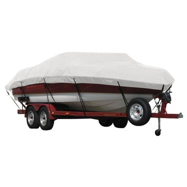 Exact Fit Covermate Sunbrella Boat Cover For Alumacraft Mv 1860 Aw Sc V-Shaped Jon Boat W/Trolling Motor O/B