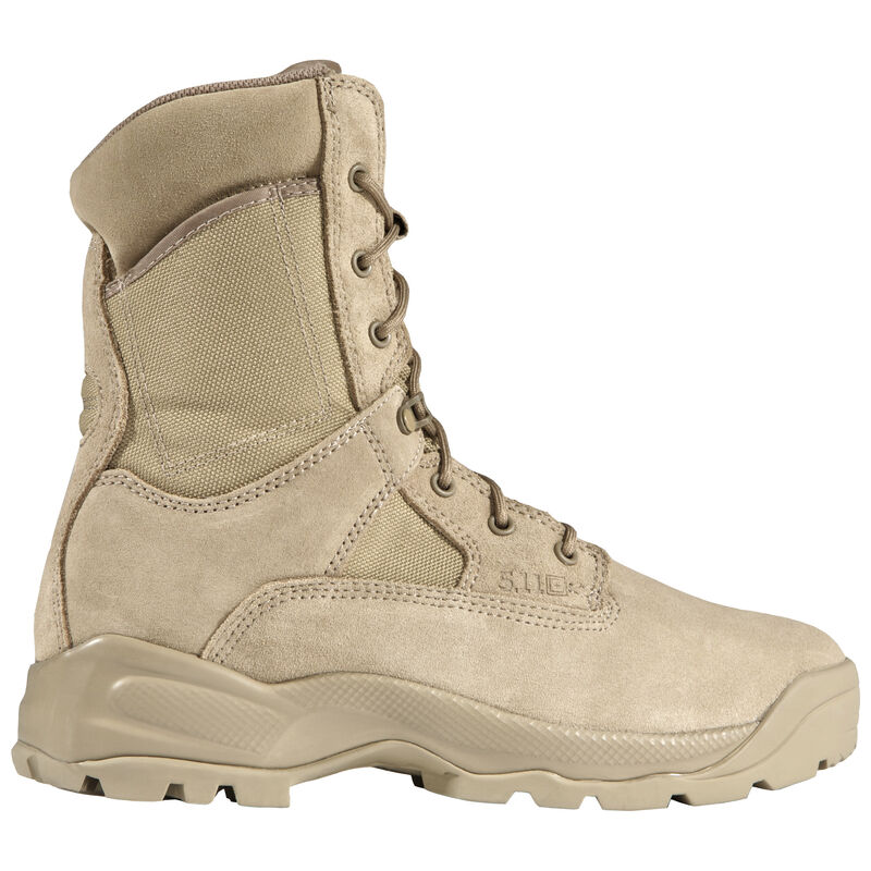 """5.11 Tactical Men's ATAC 8"""" Coyote Boot image number 1"""