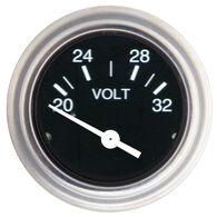 """Sierra 2"""" Voltmeter, Sierra Part #80131P"""
