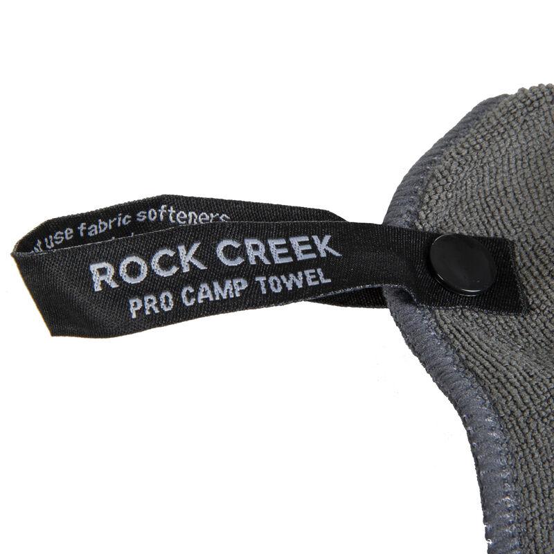 Rock Creek Gray Microfiber Pro Camp Towel, Extra Large image number 5