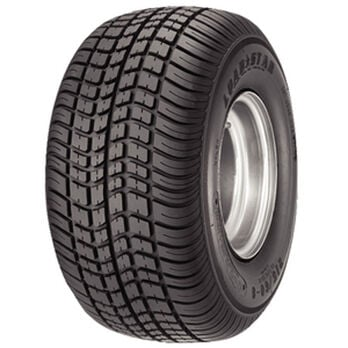 Kenda Loadstar K399 205/65-10 C (20.5 x 8-10) Trailer Tire, White Wheel Assembly