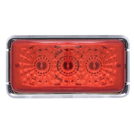 Optronics Waterproof LED Miro-Flex Sealed Trailer Marker/Clearance Light, Red
