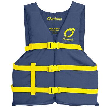 Overton's Universal Adult Boating Life Jacket, Blue