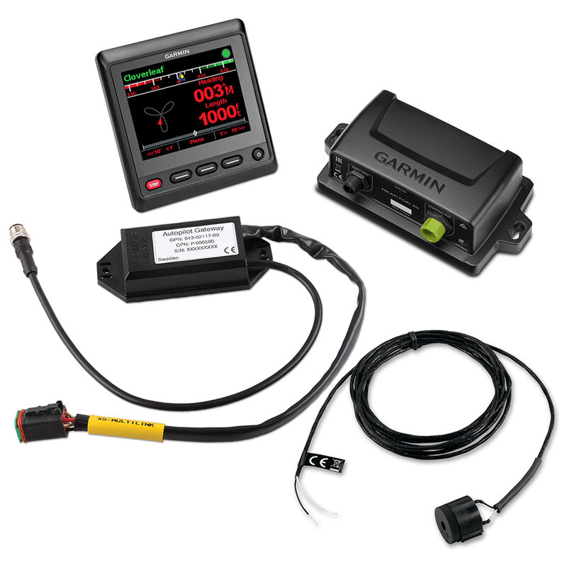 Garmin Reactor 40 Steer-By-Wire Autopilot Core Pack For Yamaha Helm Master image number 1