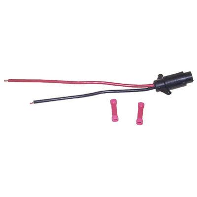 Sierra 8-Gauge Trolling Motor Plug And Socket Female 2-Prong