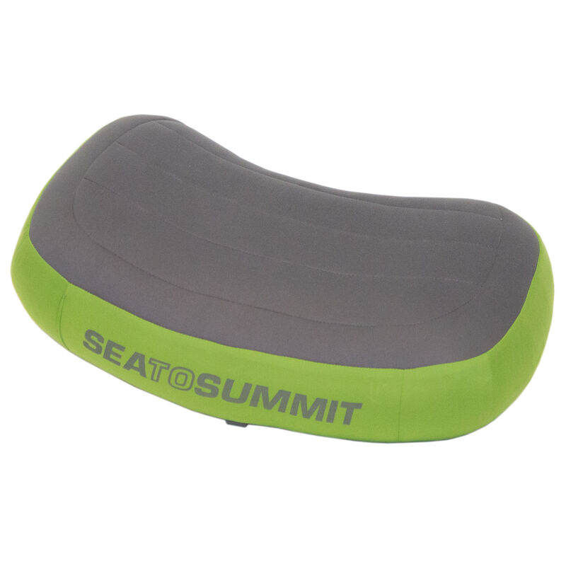 Sea To Summit Aeros Premium Inflatable Pillow, Green, Long image number 2