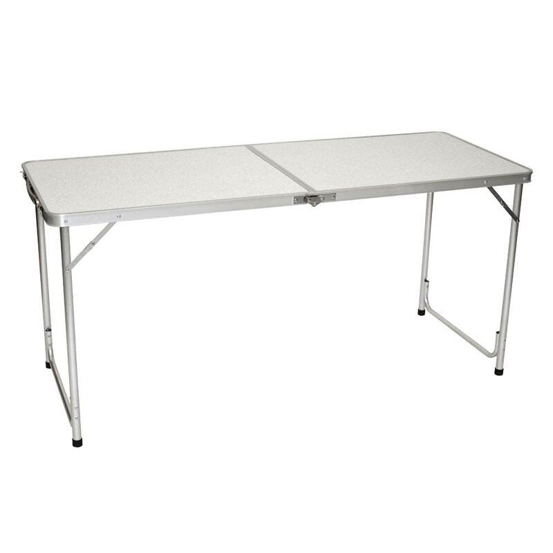 Fold 'N Half Aluminum Table, 5' image number 3
