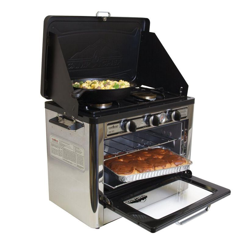 Camp Chef Outdoor Camping Oven and 2-Burner Stove image number 1