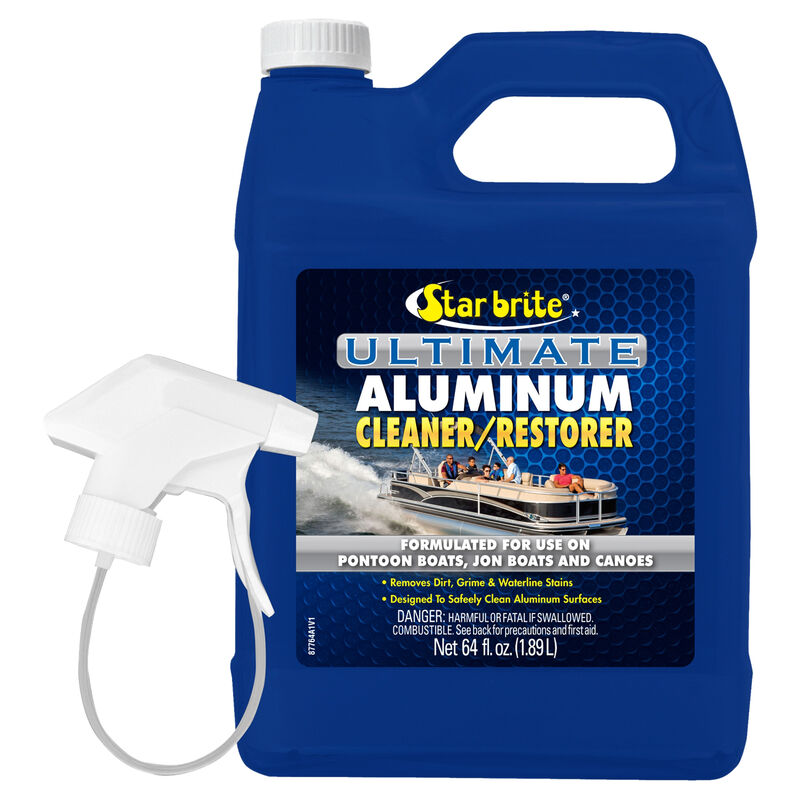 Star Brite Ultimate Aluminum Cleaner With Sprayer, 64 oz. image number 1