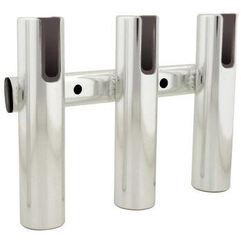Brushed Aluminum 3-Rod Holder