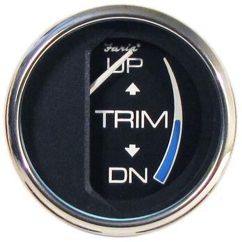 Faria Chesapeake SS Instruments Trim Gauge For Johnson/Evinrude/Suzuki