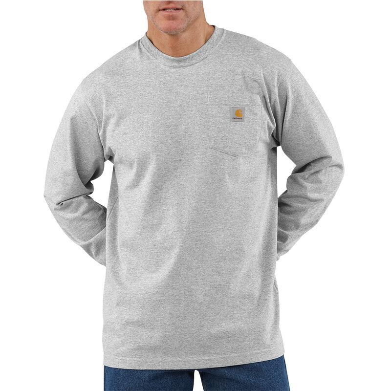 Carhartt Men's Workwear Long-Sleeve Pocket Tee image number 8