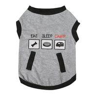Camping Pet Tee, Small