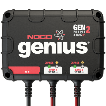 NOCO GENM2 2-Bank Mini Onboard Battery Charger