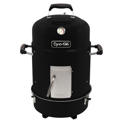 Dyna-Glo Compact Charcoal Bullet Smoker, High Gloss Black