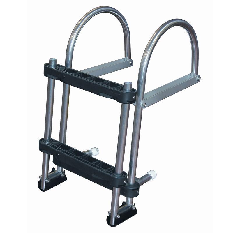 Dockmate Pontoon Transom Boarding Ladder, 3-Step image number 2