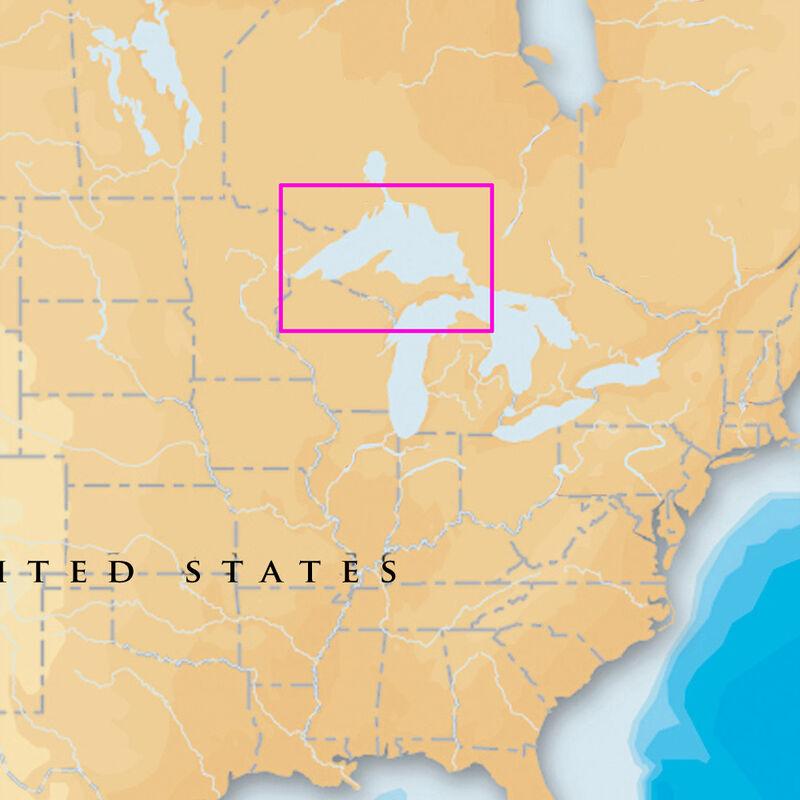 Navionics Platinum+ Map Lake Superior - CF Cartridge image number 1