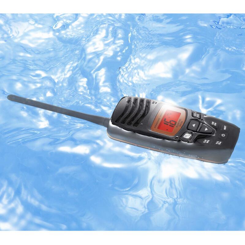 Standard Horizon HX100 Floating Handheld VHF Radio Two-Pack image number 3