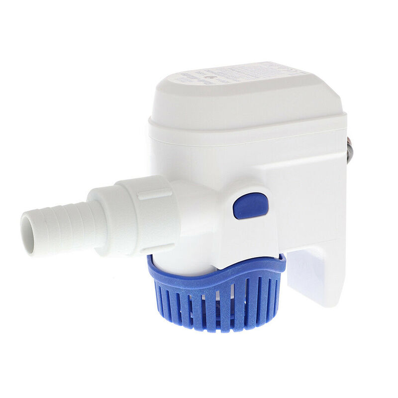 RuleMate 500 GPH Automatic Submersible Bilge Pump image number 1