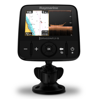 Raymarine Dragonfly 5 PRO With Dual-Channel CHIRP Sonar and Chartplotter